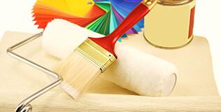 Pinceau & rouleaux peinture