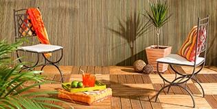 Dalle terrasse clipsable