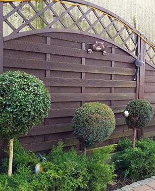Brise-vue et clôture