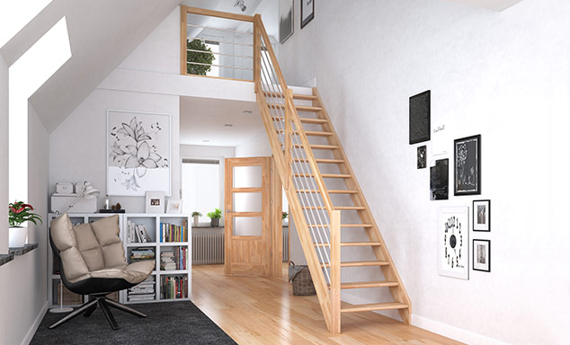 Escalier modulaire de Dolle