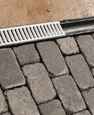 Caniveau de drainage