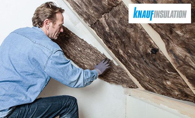 Matériaux isolant de Knauf pour une habitation saine