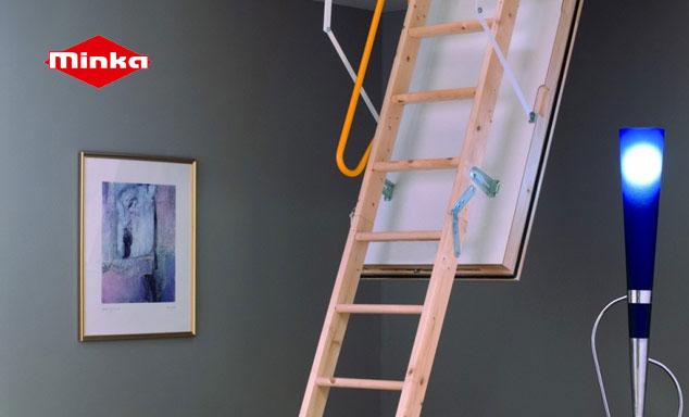 Escalier escamotable de Minka