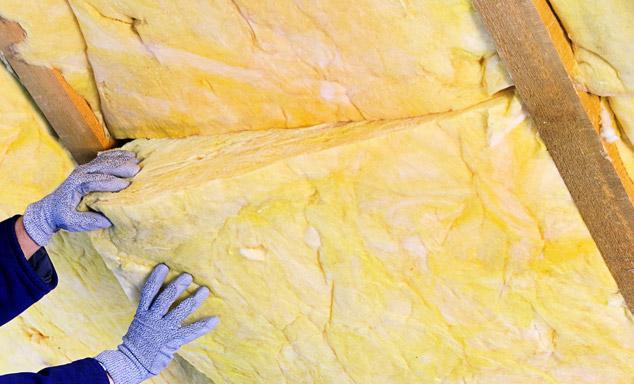 URSA laine de verre isolant thermique entre chevrons