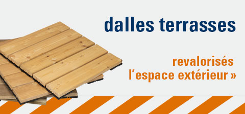 dalles terrasses clipsables