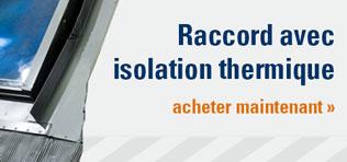 raccord avec isolation thermique