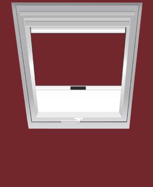 BENZ24 Verdunkelungsrollo für Roto Dachfenster