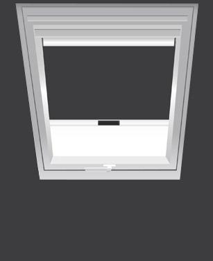 BENZ24 Verdunkelungsrollo für Velux Dachfenster
