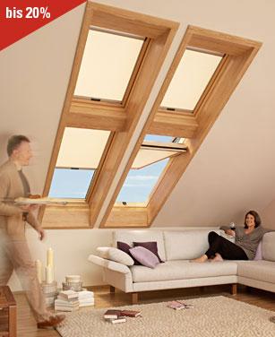 Roto Sichtschutzrollo für Dachfenster