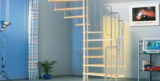 DOLLE Escalier colimaçon