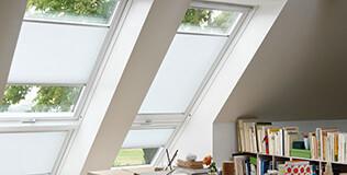 store plissé Stores pour fenêtre de toit