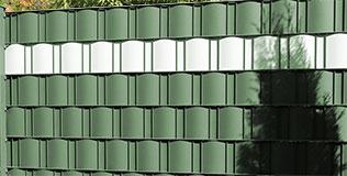 Brise-vue vert